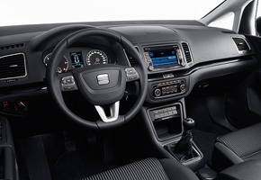 New SEAT Alhambra – controls