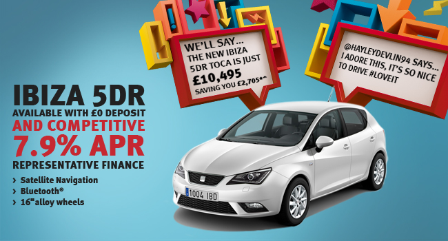 SEAT Ibiza 5 door