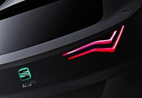 SEAT IBE rear lights