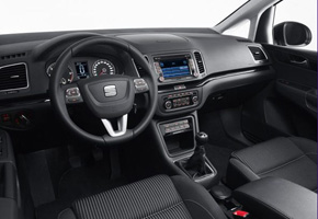 Controls in the new SEAT Alhambra
