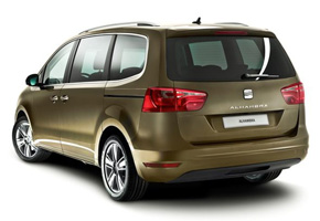 SEAT Alhambra 2010 rear quarter