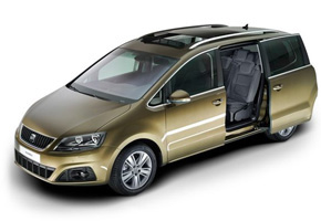 SEAT Alhambra 2010 sliding door