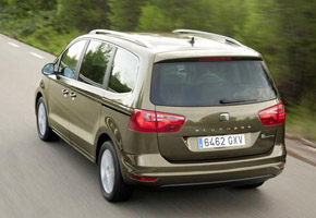 New SEAT Alhambra – rear quarter
