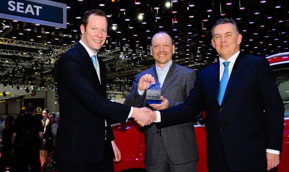 SEAT Alhambra best mpv award presentation