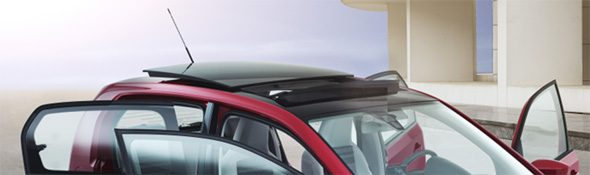 SEAT Mii - Panoramic glass sunroof