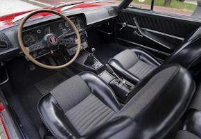 SEAT 124 Sport Coupe - interior