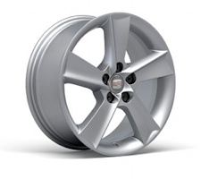 SEAT Ibiza Toca alloy wheel