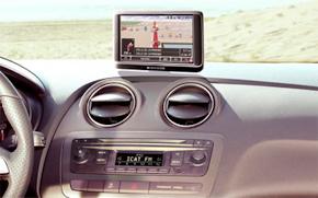 SEAT Ibiza Toca navigation system