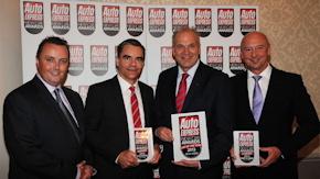SEAT Executives collect Auto Express award