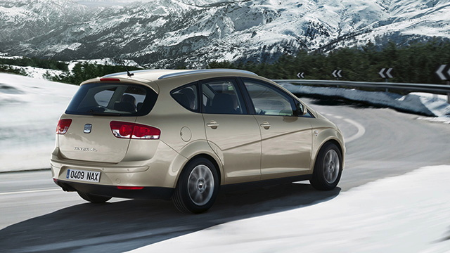 SEAT Altea XL - winter landscape