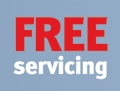 Free servicing