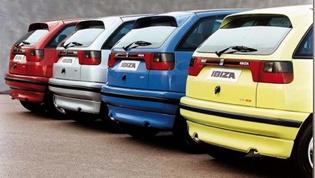 SEAT Ibiza Mk2 - rear
