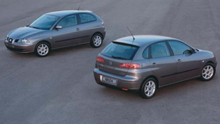 SEAT Ibiza Mk3 - front and rear