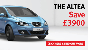 Save £3,900 on SEAT Altea range – from only £151 per month