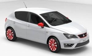 SEAT Ibiza 5dr FR Red