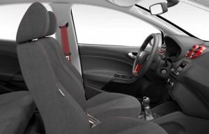 SEAT Ibiza 5dr FR Red interior