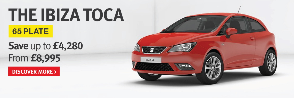 Save up to £4,280 on 65 Plate SEAT Ibiza