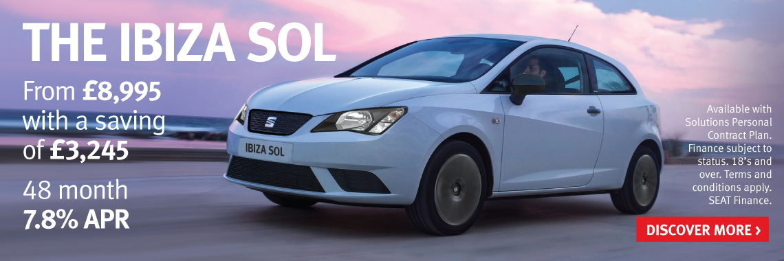 Save 163 3 500 On The Seat Ibiza Sol Now From Only 163 8 740