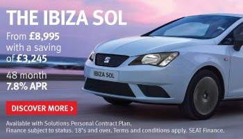 SEAT Ibiza SOL offer