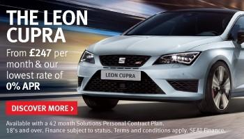 SEAT Leon Cupra offer