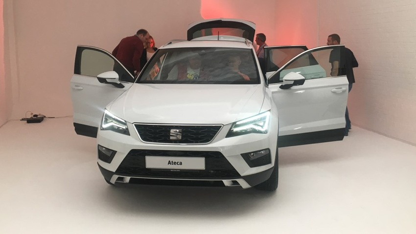 SEAT Ateca SUV preview