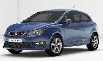 SEAT Ibiza SC FR med blue
