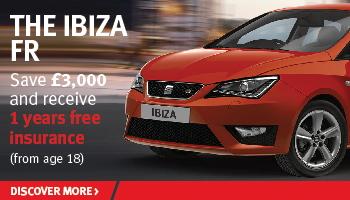 SEAT Ibiza FR offer