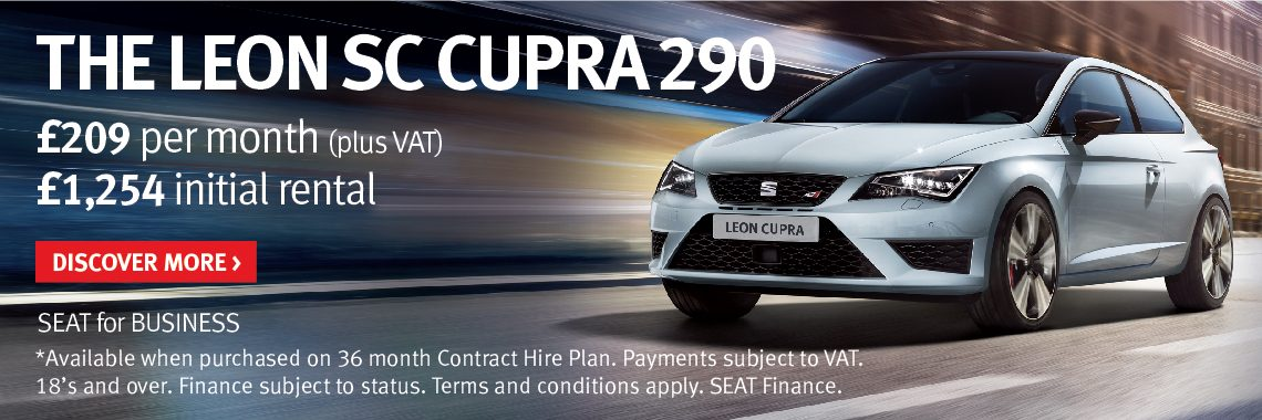 SEAT Leon Cupra 290 offer