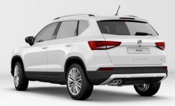 SEAT Ateca Xcellence Bila White - rear