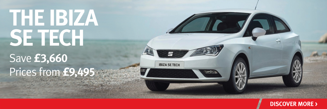 SEAT Ibiza SE Tech offer
