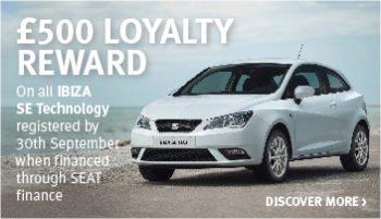 W Livingstone SEAT Ibiza SE Tech offer