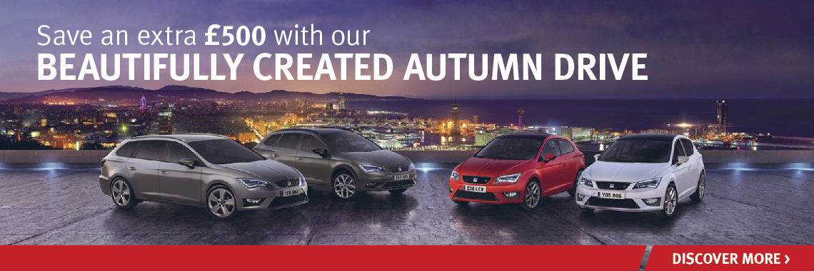 W Livingstone SEAT Autumn Drive Offer