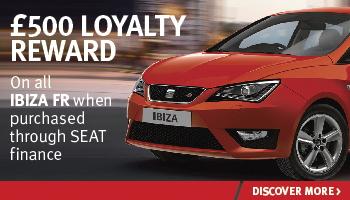 W Livingstone SEAT Ibiza FR Reward