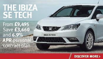 W Livingstone SEAT Ibiza SE Tech