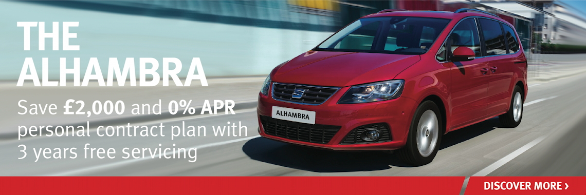 SEAT Alhambra offer