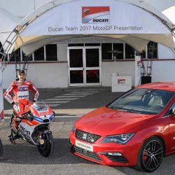 SEAT joins forces with Ducati MotoGP team