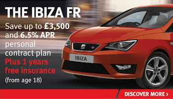 W Livingstone SEAT Ibiza FR offer