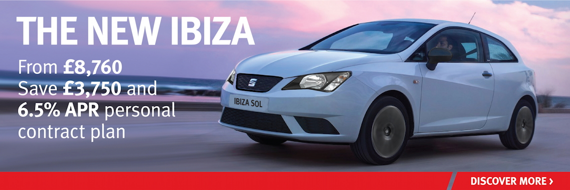 W Livingstone SEAT Ibiza offer