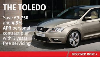W Livingstone SEAT Toledo offer
