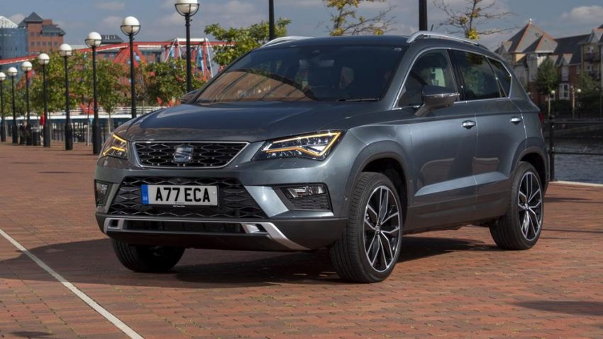 SEAT Ateca - voted best crossover