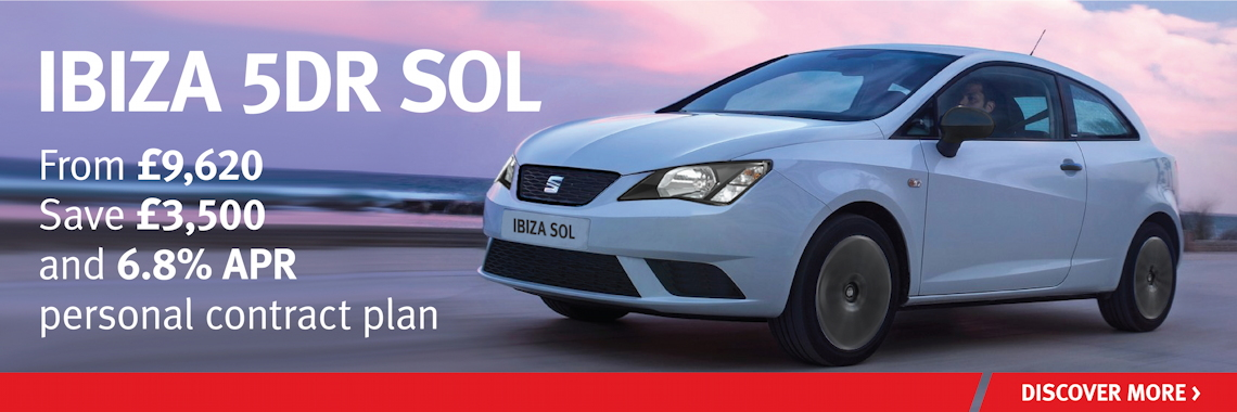 W Livingstone Ltd SEAT Ibiza SOL Offer