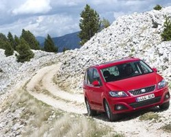 Exclusive test of Alhambra 4WD for UK journalists