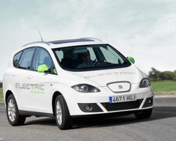 Journalists test SEAT's new electric cars