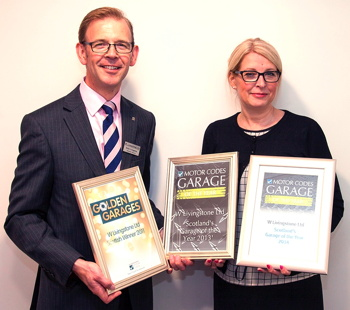 Garage of the Year Awards 2011, 2013 and 2014
