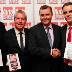 Triple win for SEAT at 2014 Auto Express awards