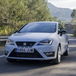 Glowing media reviews from SEAT Ibiza CUPRA international launch