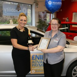 Award for excellent customer service