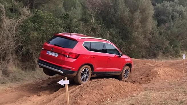 SEAT Ateca SUV test drive