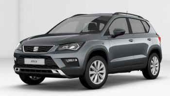 SEAT Ateca SE Rodium Grey - side