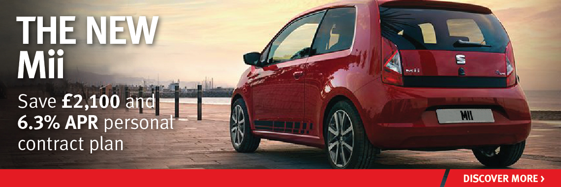 W Livingstone Ltd SEAT Mii offer